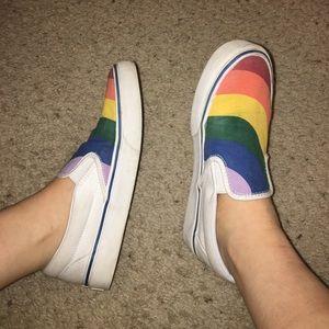 United edition rainbow vans